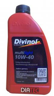 Divinol Multilight 10W-40/1Liter