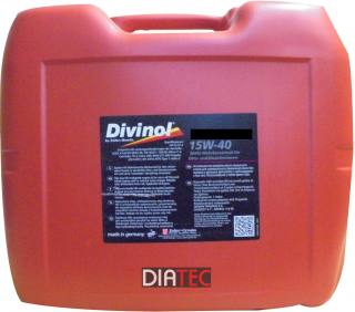 Divinol Multimax High Tech 15W-40/20Liter