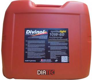 Divinol Syntholight 10W60/20Liter