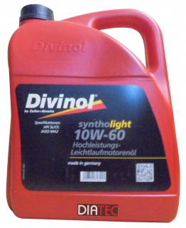 Divinol Syntholight 10W60/5Liter