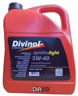 Divinol Syntholight 5W-40/5 Liter