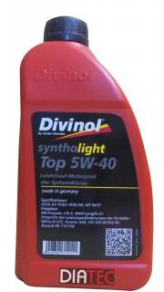Divinol Syntholight Top 5W40,1 Liter